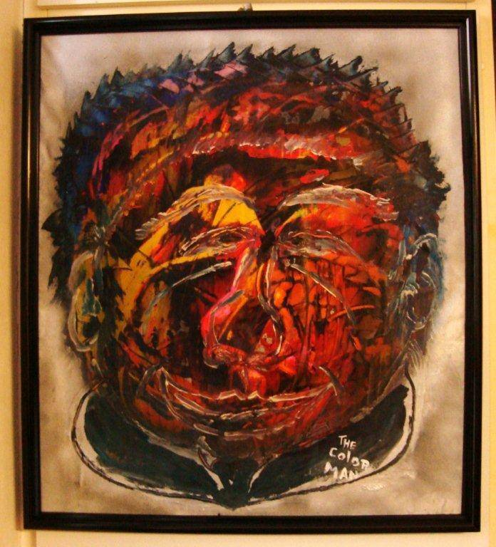 "13 Kunstwerk - Alexisme ""The Colored Man"" - € 80,--"
